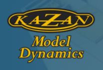 Kazan model dynamics